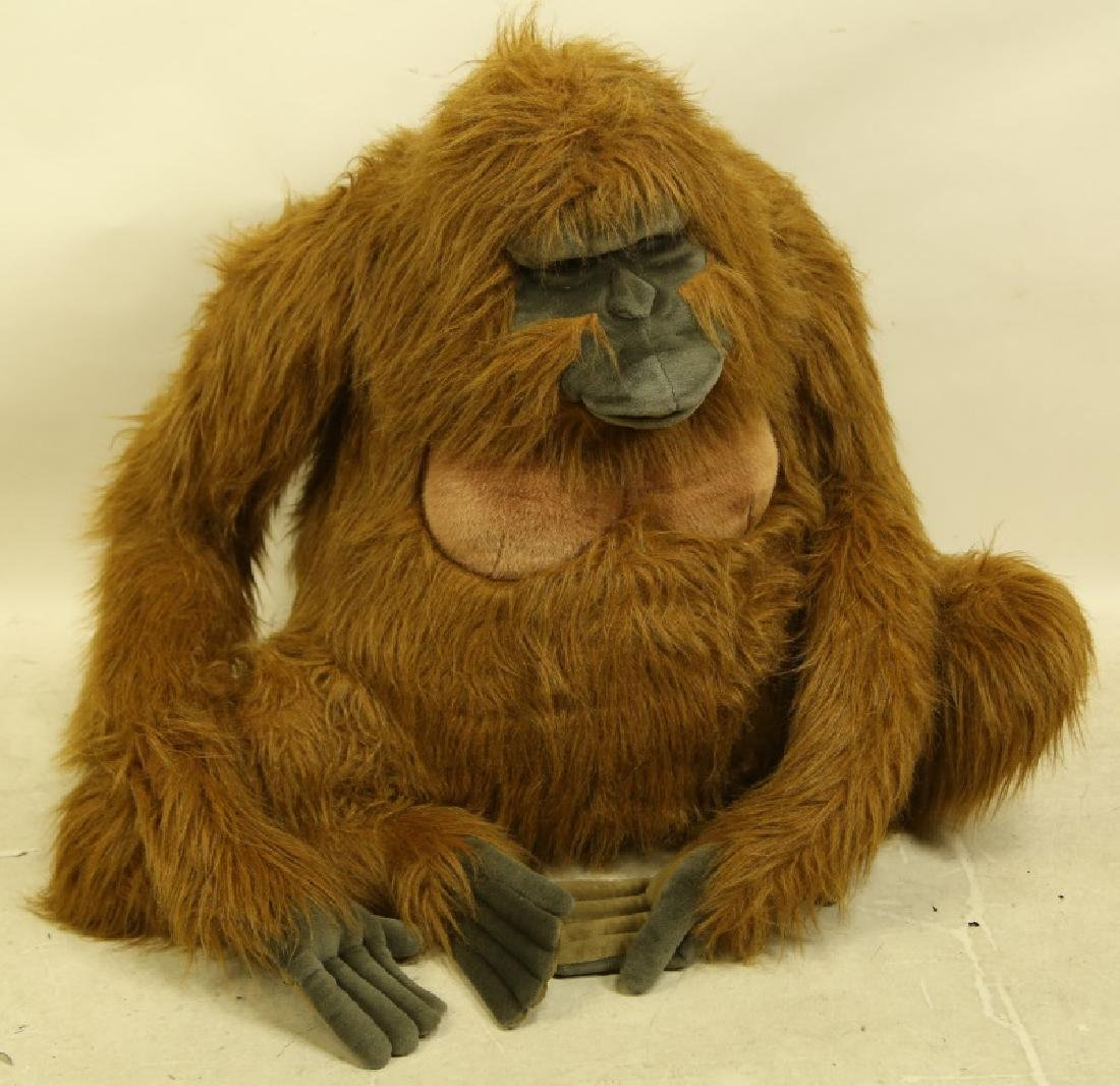 HANSA TOY INTERNATIONAL LIFE SIZE PLUSH ORANGUTAN