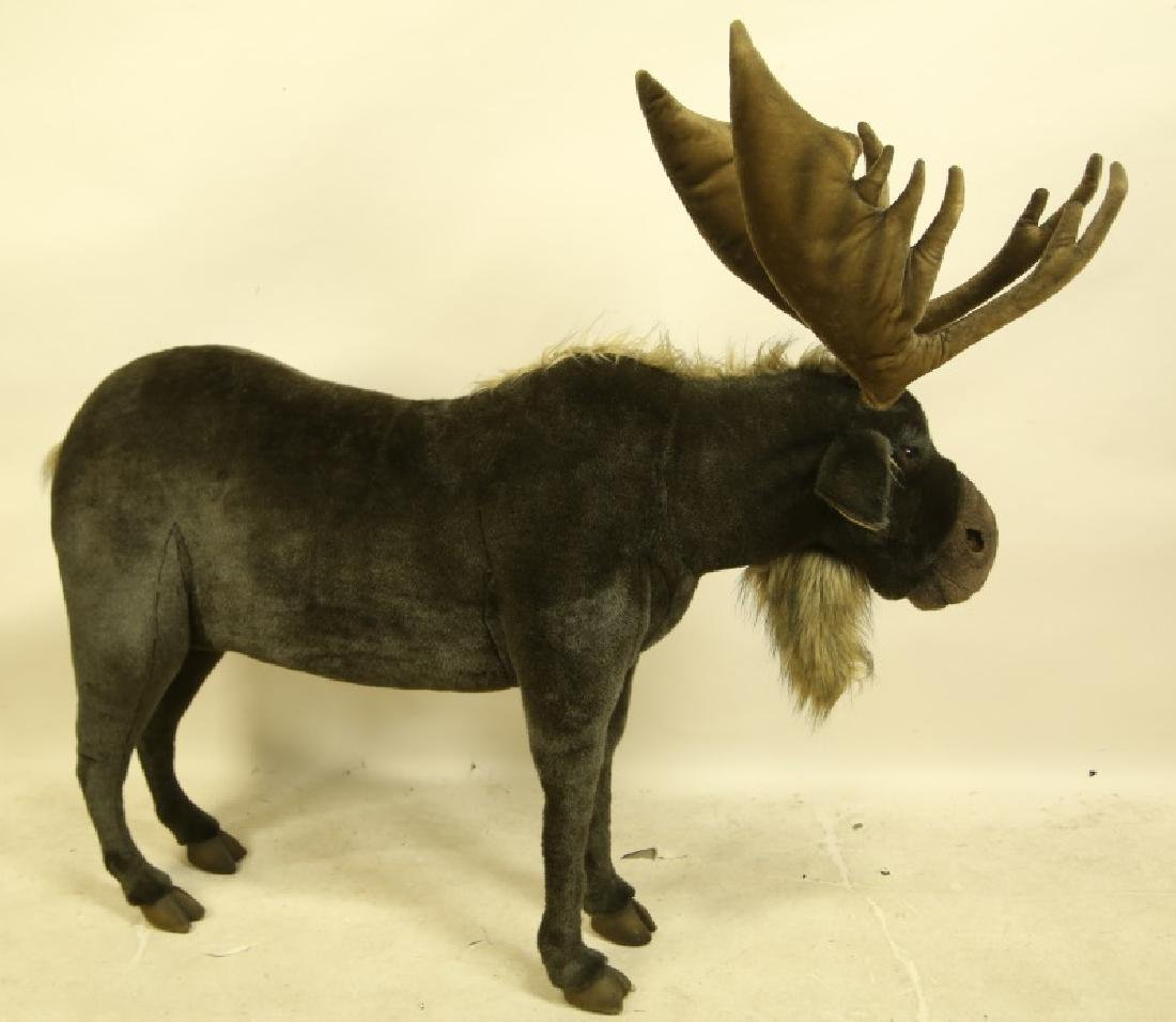 HANSA TOY INTERNATIONAL PLUSH LIFE SIZE MOOSE