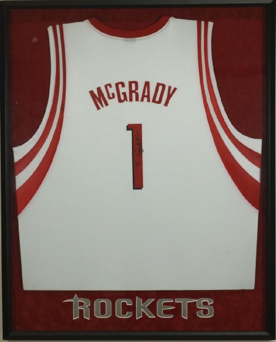 SIGNED TRACY MCGRADY ROCKETS JERSEY