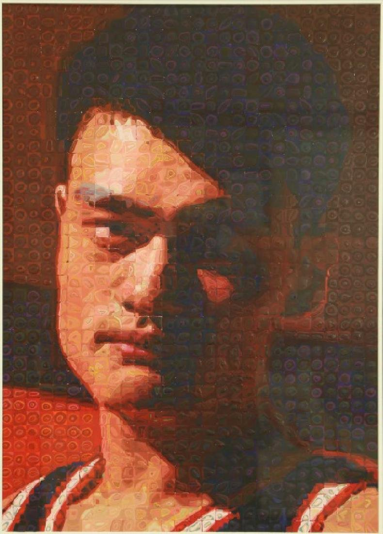 YAO MING ABSTRACT PAINTING