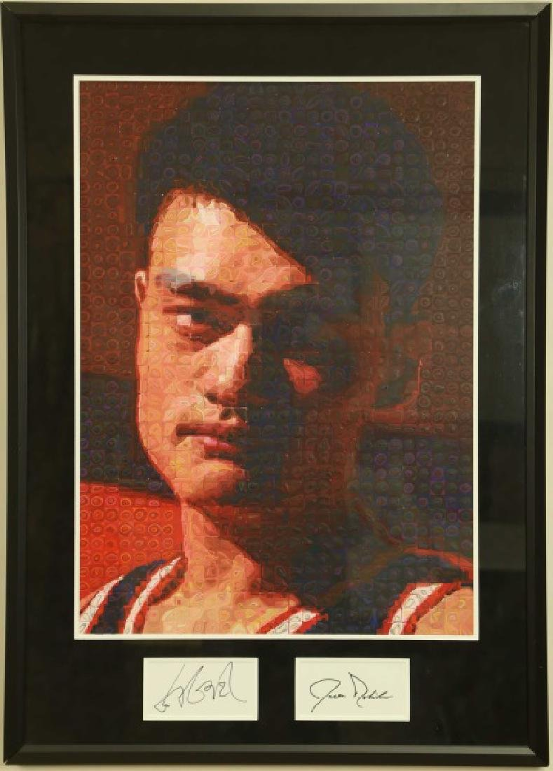 YAO MING ABSTRACT PAINTING - 2
