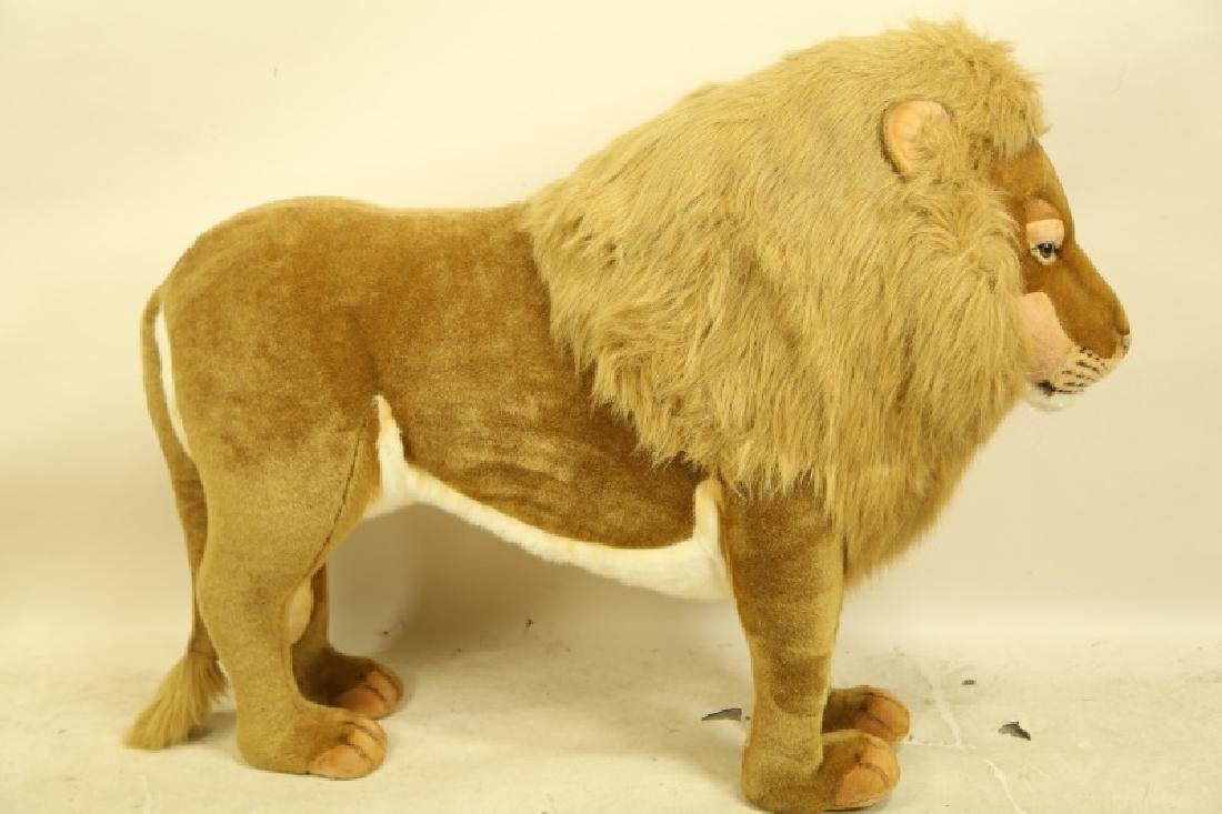 HANSA TOY INTERNATIONAL PLUSH LIFE SIZE LION