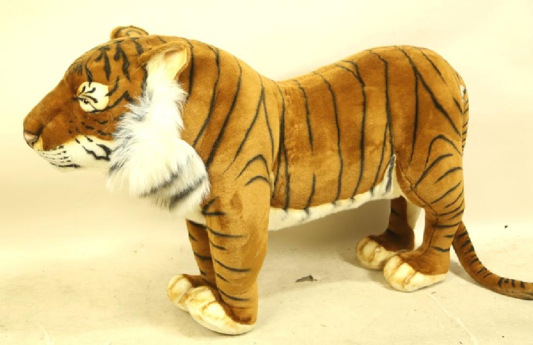 HANSA TOY INTERNATIONAL PLUSH LIFE SIZE TIGER