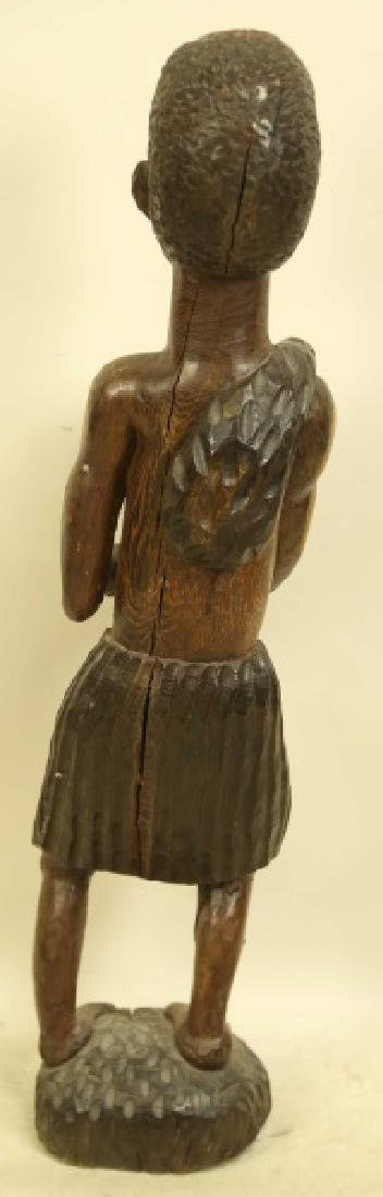 AFRICAN STATUE - 2