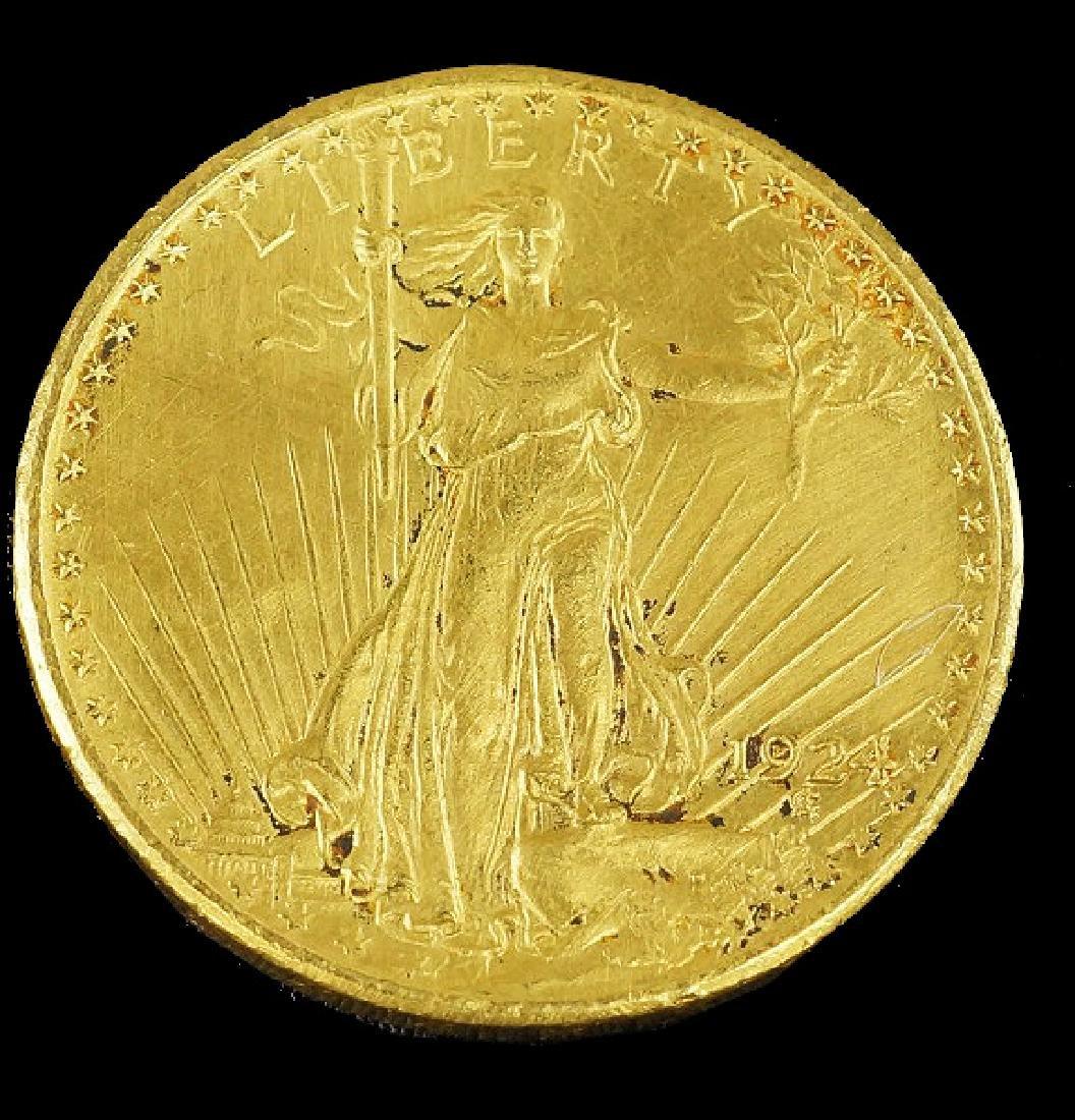 SAINT GAUDENS $20 GOLD COIN