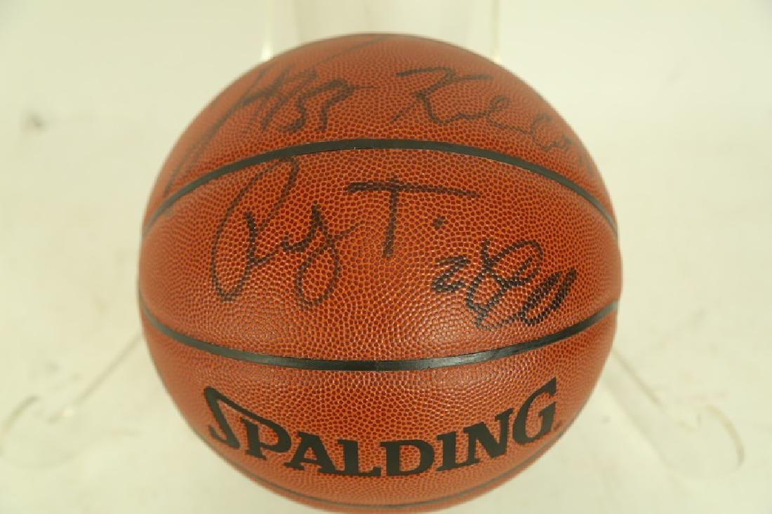 TEAM AUTOGRAPHED OFFICIAL SIZE BASKETBALL