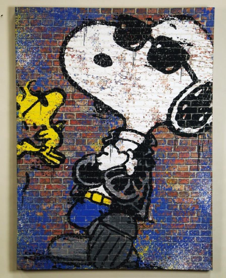 TOM EVERHART SNOOPY IN SHADES