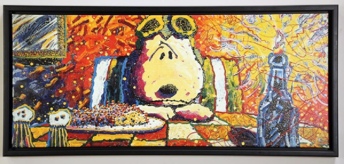 """TOM EVERHART """"THE LAST SUPPER"""" GICLEE"""