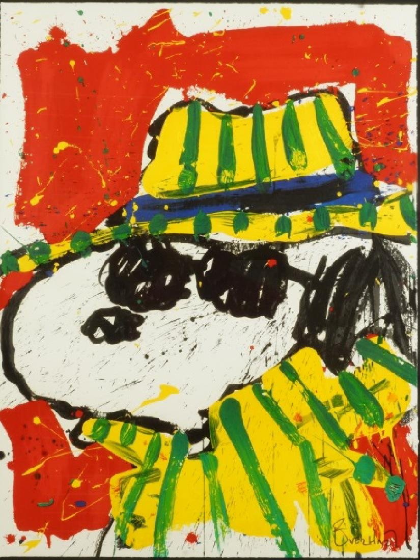 "TOM EVERHART ""THE HAT MAKES THE DUDE"" SIGNED LITHOGRAPH - 2"