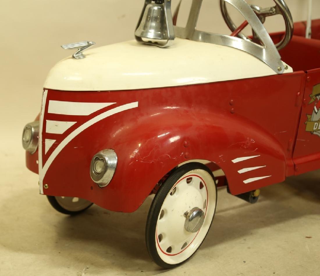 FIRETRUCK PEDAL CAR - 2