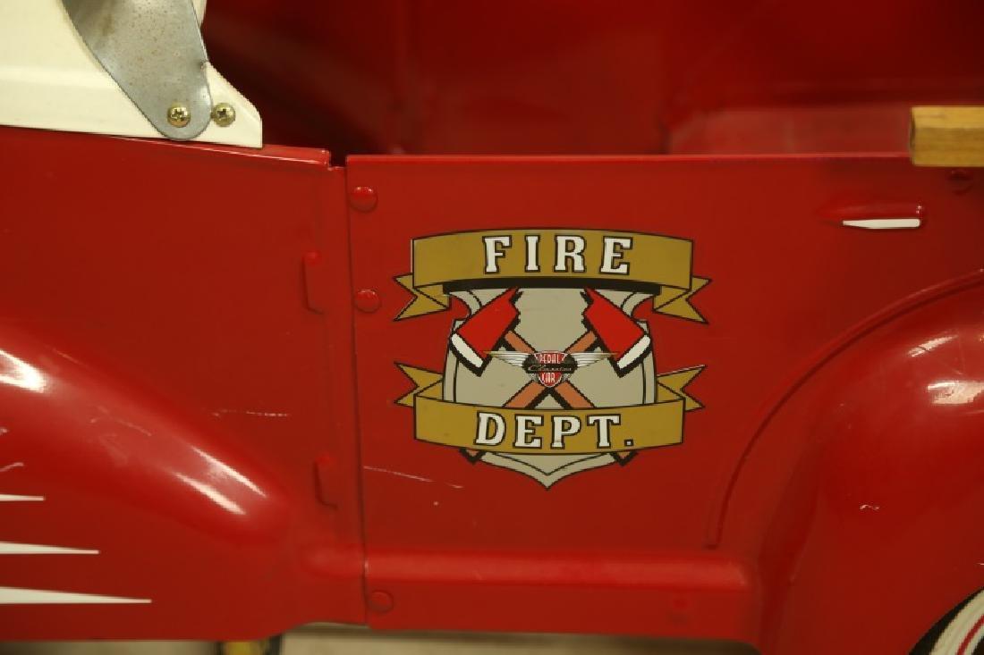 FIRETRUCK PEDAL CAR - 3