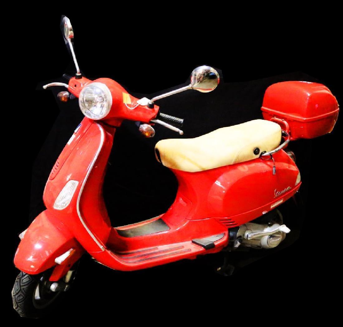 2008 PIAGGIO LX 150 RED VESPA