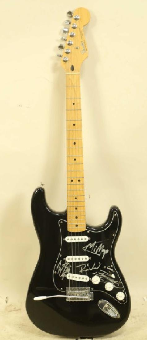 FENDER STRATOCASTER AUTOGRAPHED ELECTRIC GUITAR