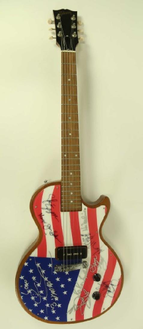 AUTOGRAPHED GIBSON ELECTRIC GUITAR