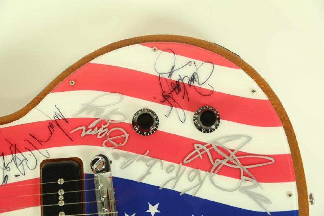 AUTOGRAPHED GIBSON ELECTRIC GUITAR - 4