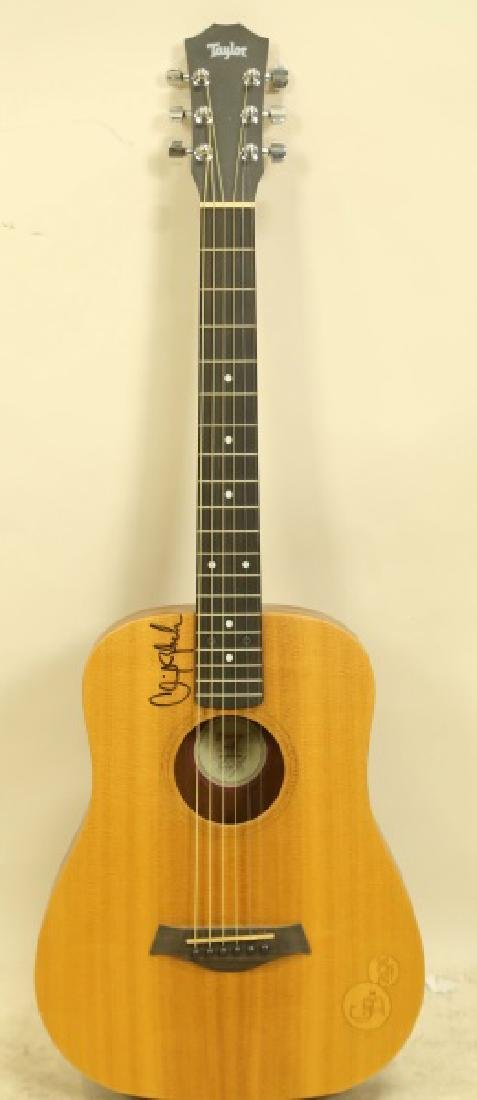 AUTOGRAPHED ROBERT CLINT BLACK ACOUSTIC GUITAR