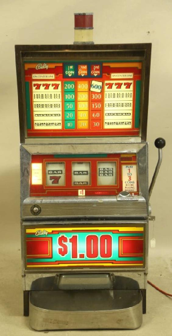 BALLY $1.00 SLOT MACHINE
