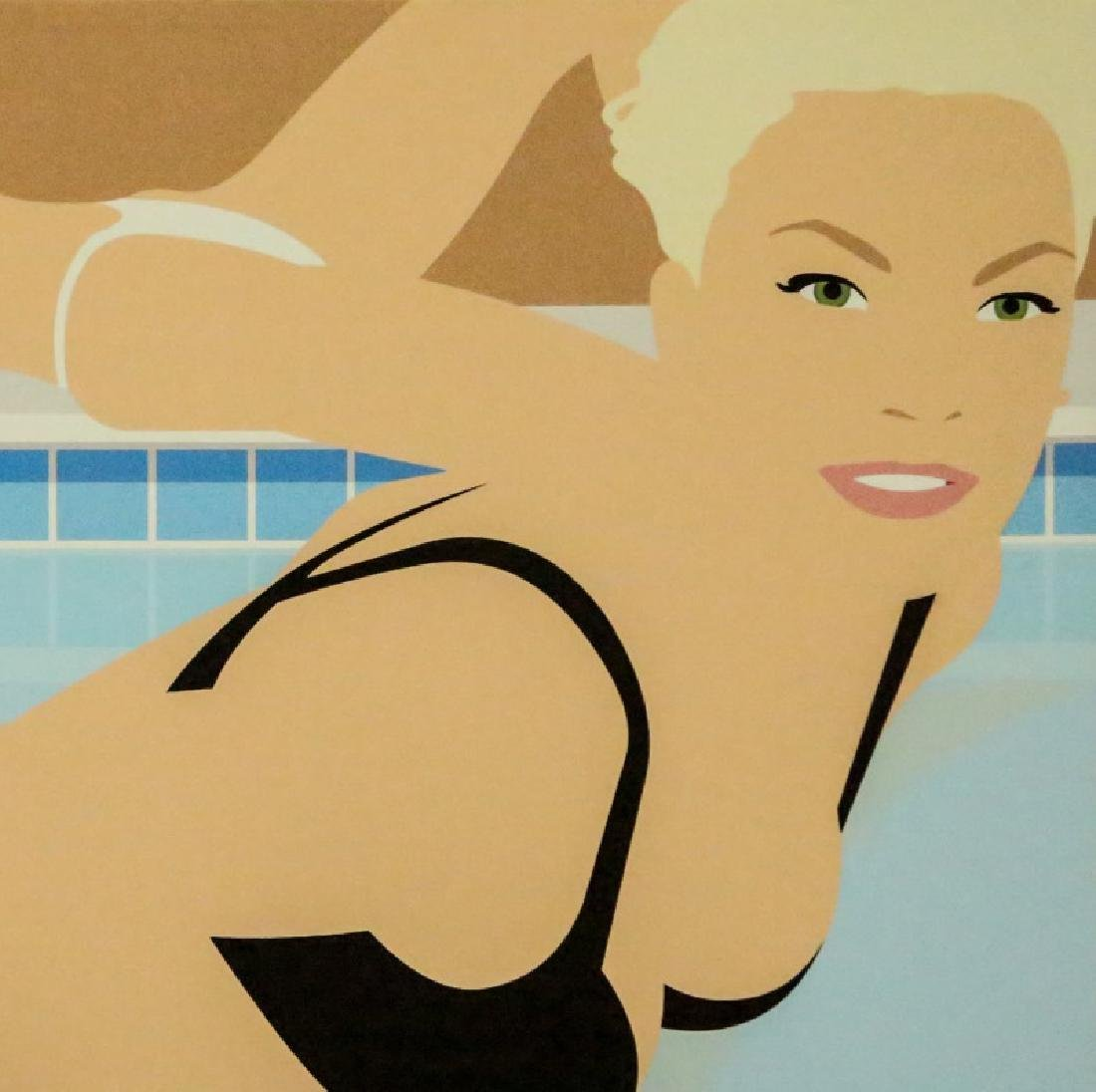 SWIMMERS GICLEE PAINTING, 2006 - 2