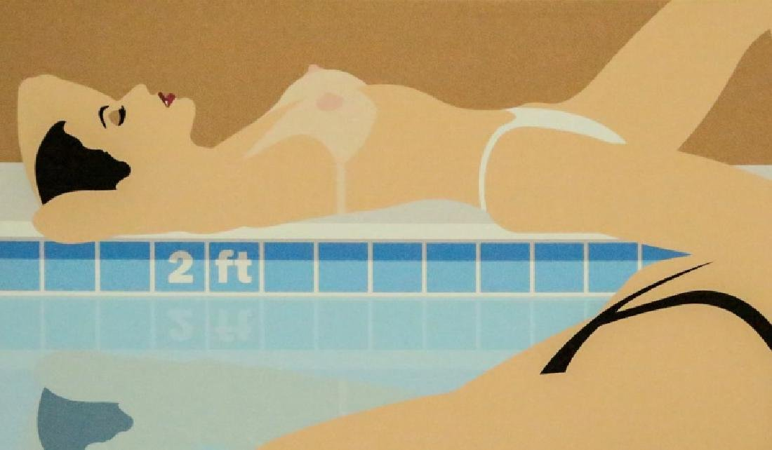SWIMMERS GICLEE PAINTING, 2006 - 3