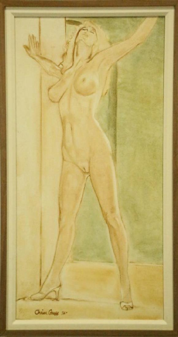 "CHAIM GROSS ""NUDE"" C.1974"