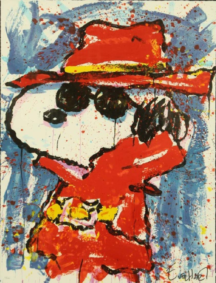 "TOM EVERHART ""UNDERCOVER IN HOLLYWOOD"" SIGNED LITHOGRAP"