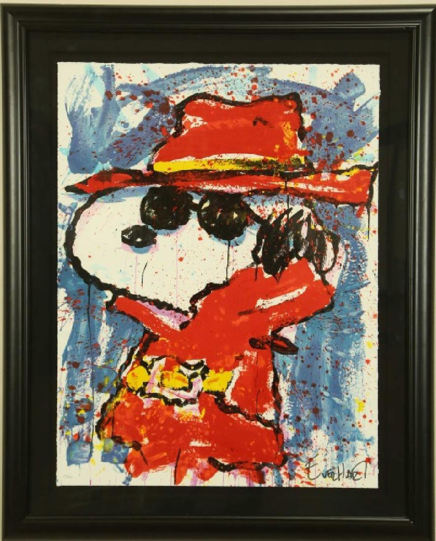 """TOM EVERHART """"UNDERCOVER IN HOLLYWOOD"""" SIGNED LITHOGRAP - 2"""