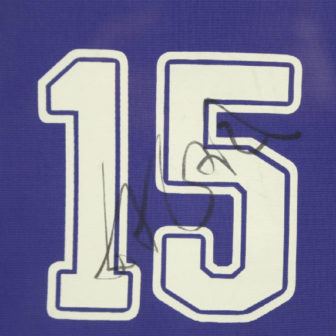 SIGNED FRAMED YAO MING #15 SHANGHAI SHARKS JERSEY - 3