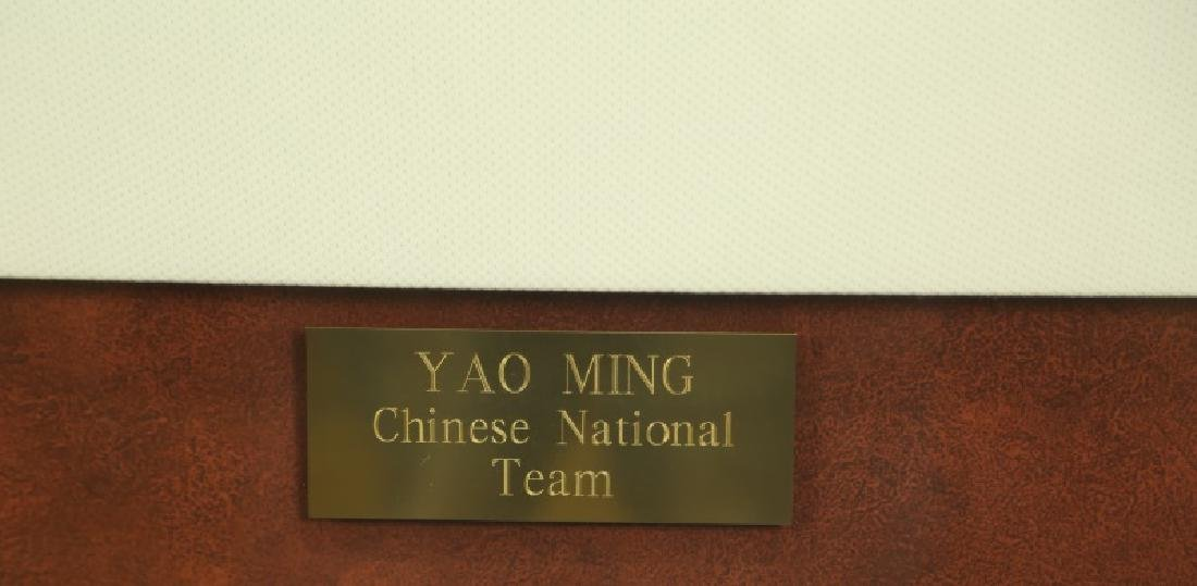 SIGNED YAO MING CHINESE NATIONAL TEAM JERSEY - 2