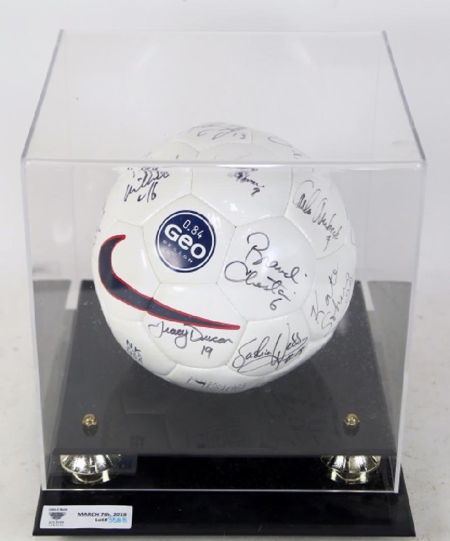 AUTOGRAPHED SOCCER BALL