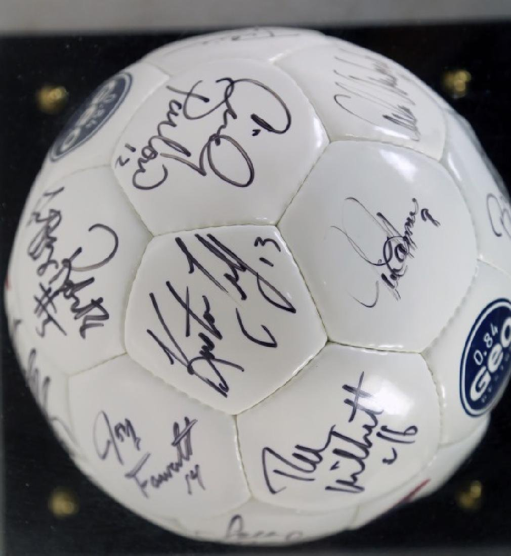 AUTOGRAPHED SOCCER BALL - 3