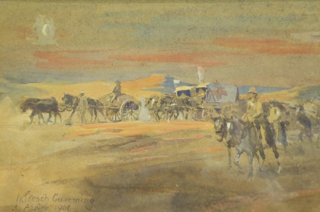 WATERCOLOR WESTERN PAINTING