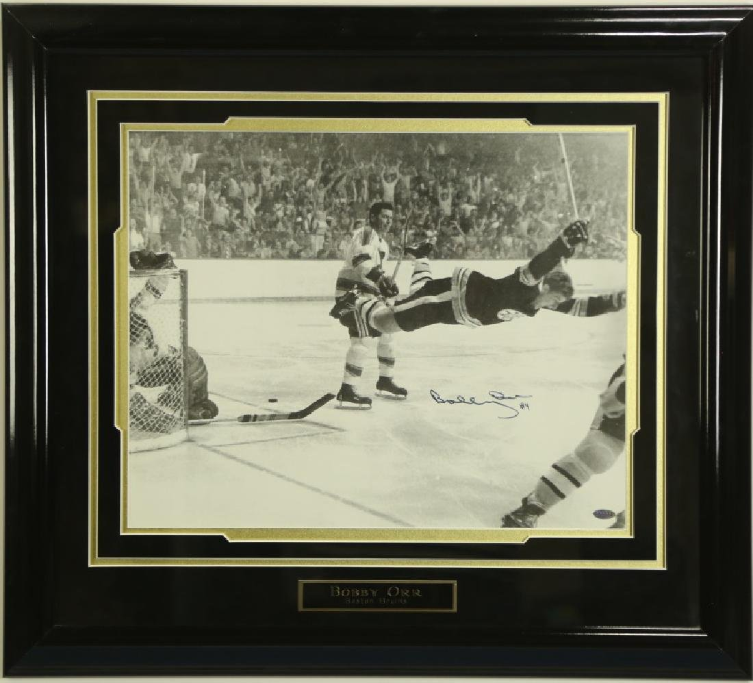 AUTOGRAPHED PHOTOGRAPH OF BOBBY ORR - 2