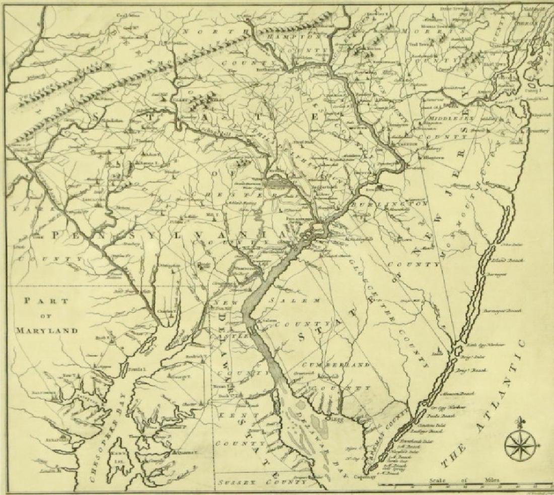 REPRODUCTION PART OF MARYLAND MAP
