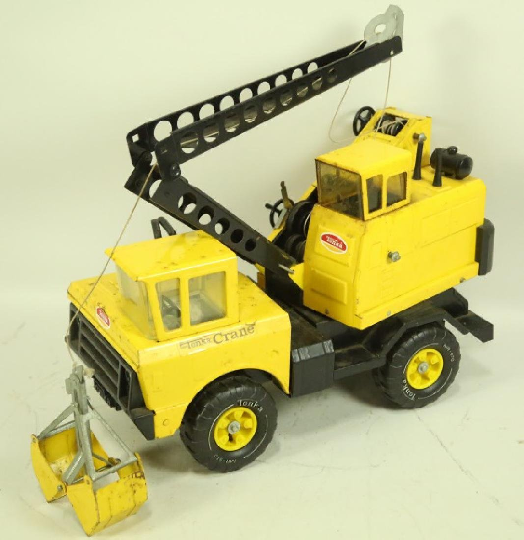 VINTAGE TONKA CONSTRUCTION VEHICLE - 2