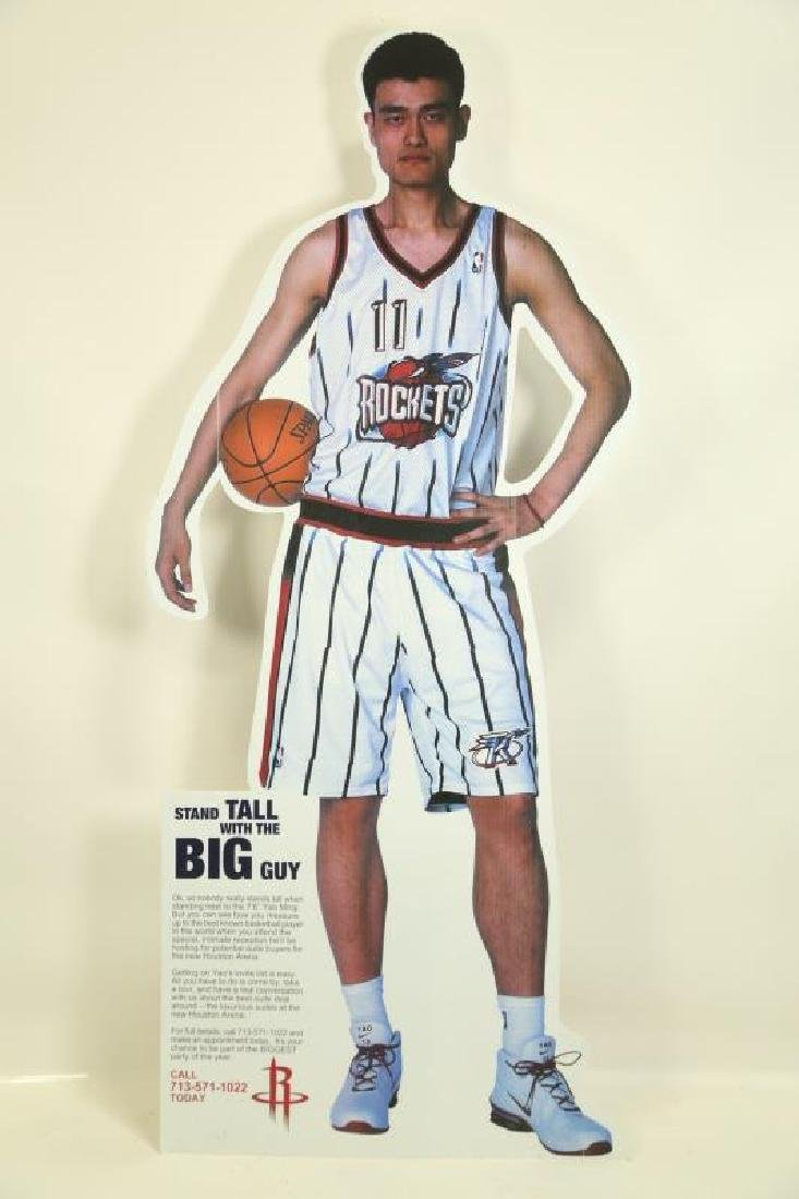 YAO MING LIFE SIZE CUT OUT