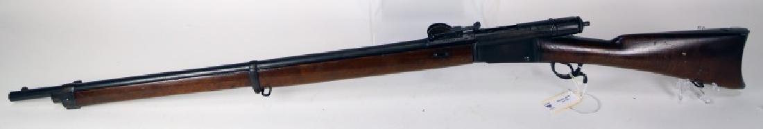 SWISS VETTERLI MODEL 1881 10 MM BOLT ACTION RIFLE