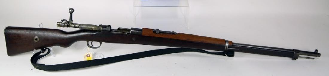 TURKISH 1903 8 MM BOLT ACTION RIFLE