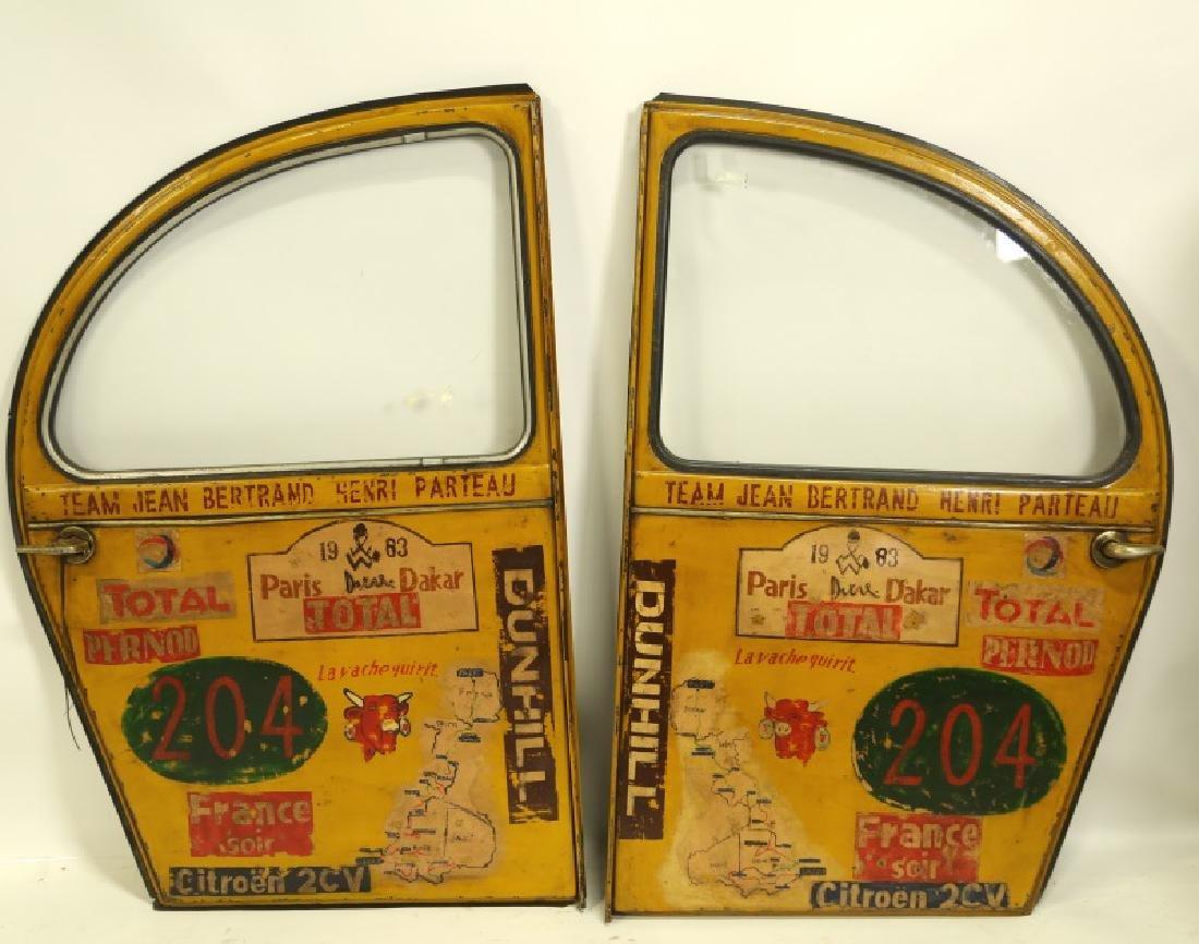 PAIR OF TEAM JEAN BERTAND HENRI PATREAU CAR DOORS
