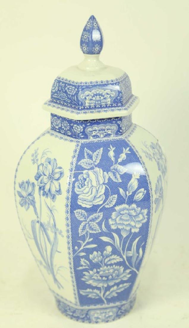 SPODE PORCELAIN LIDDED JAR