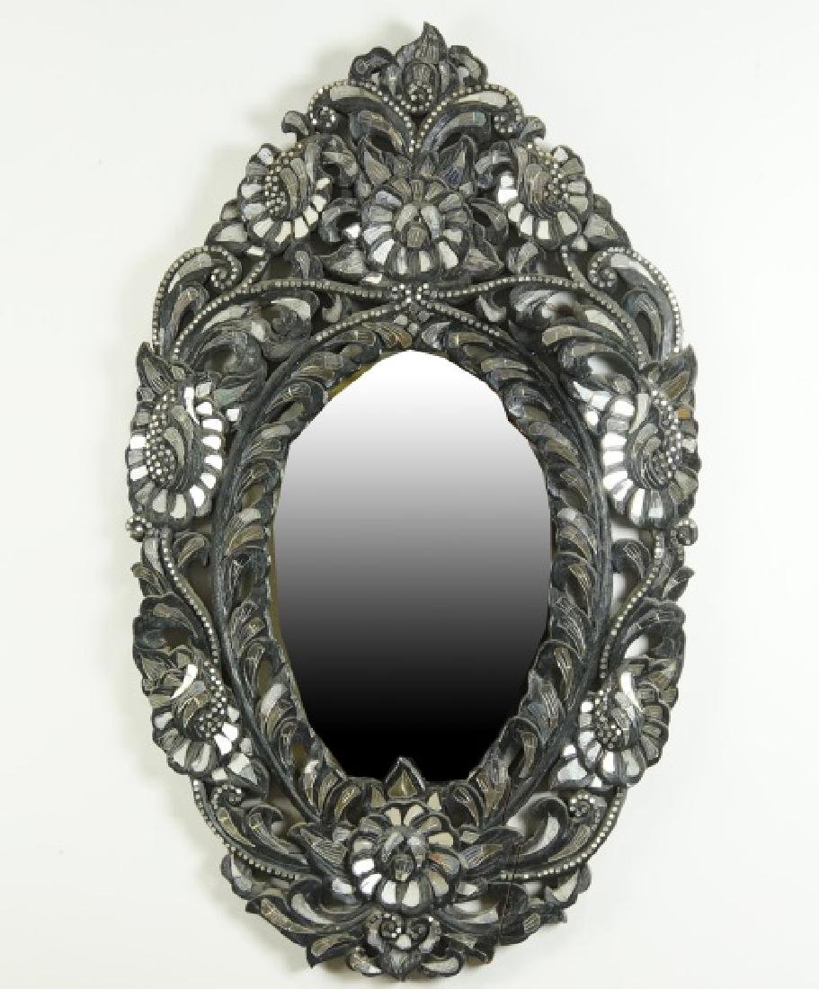 CARVED MOROCCAN MIRROR