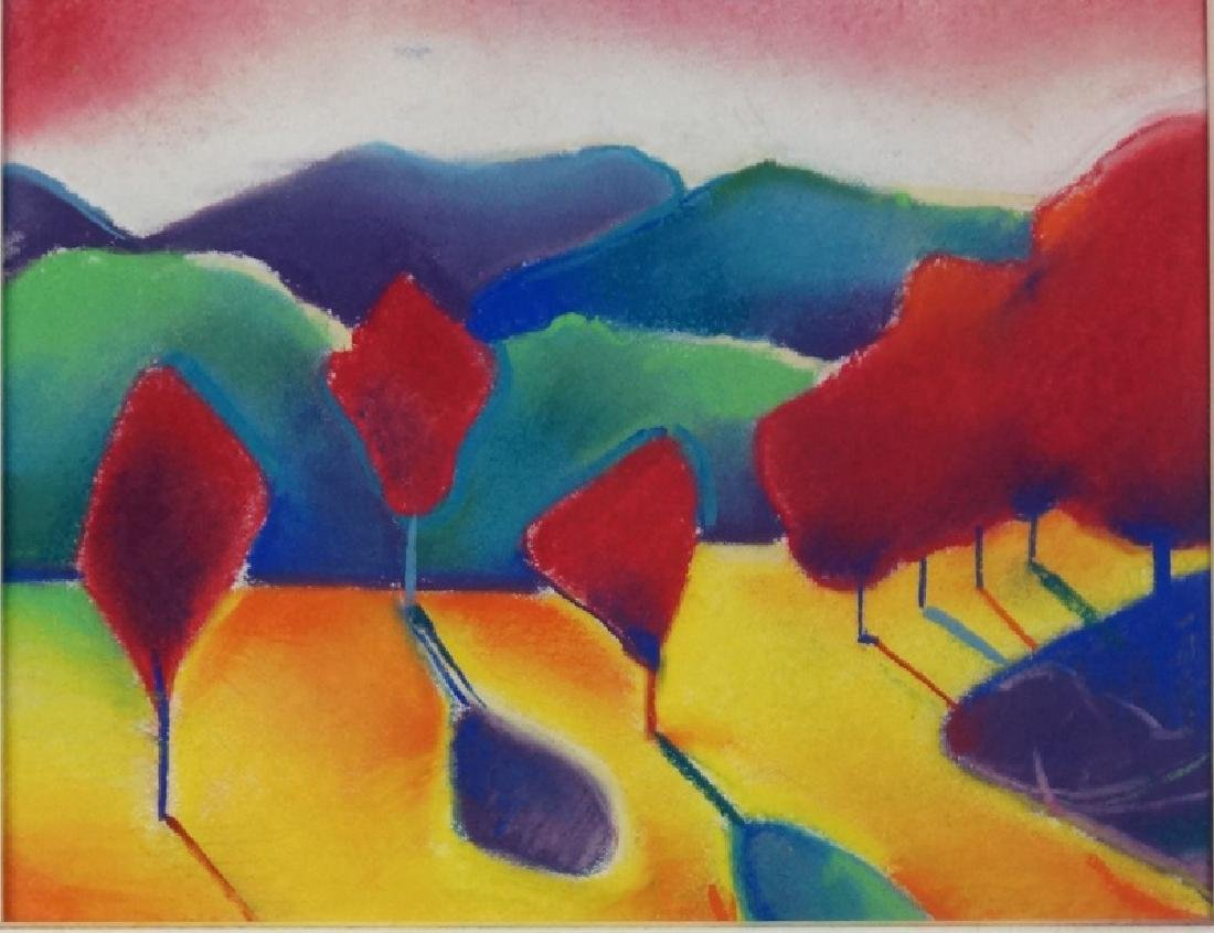 """JOHN RUNNELS """"THEME FROM A SUMMER PLACE V"""" PASTEL"""