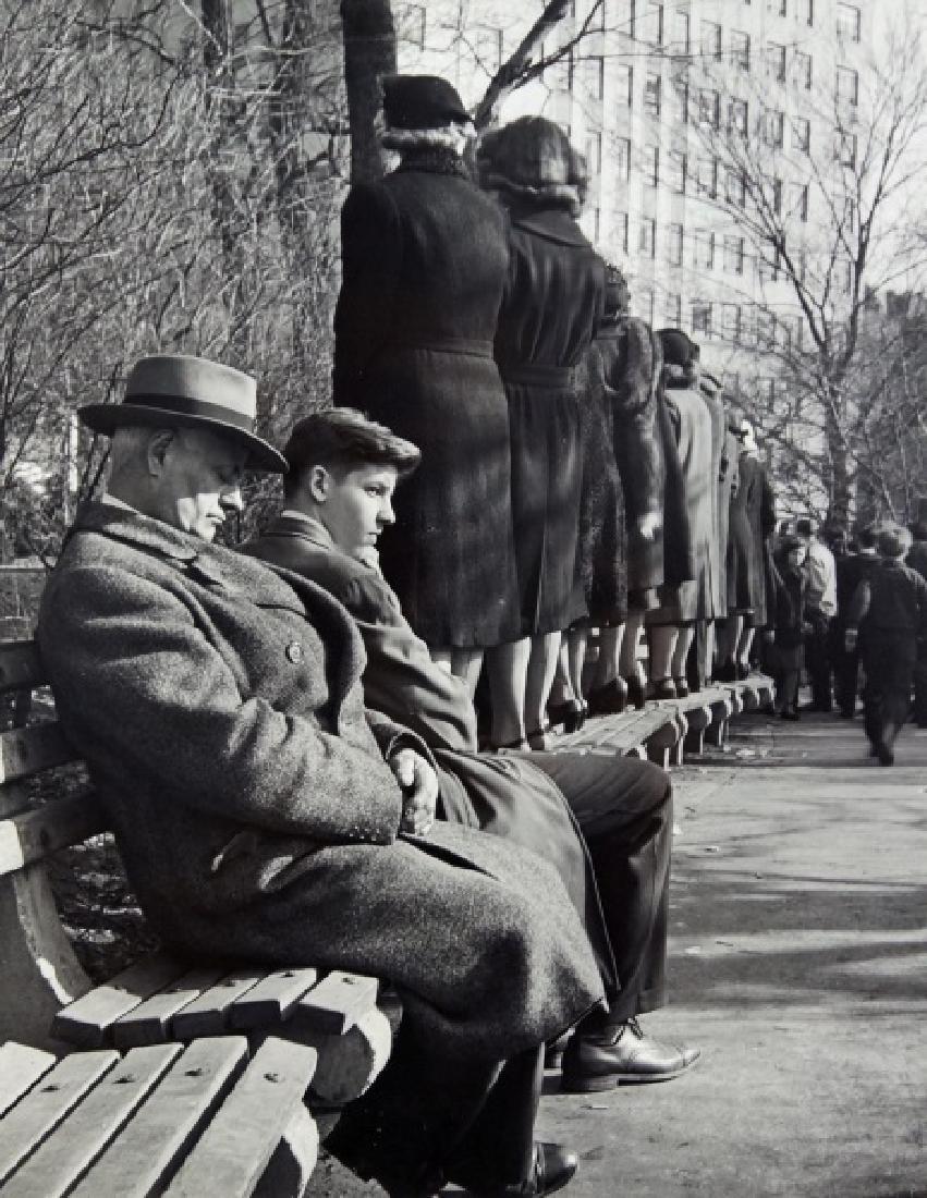 CLEMENS KALISCHER PHOTOGRAPH, CIRCA 1940's