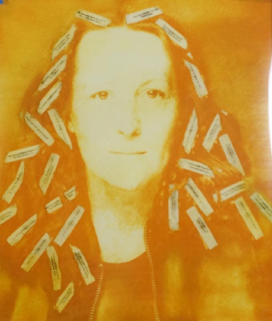 "NANCY KIENHOLZ ""FORTUNE COOKIE"" MONOPRINT, 2006"