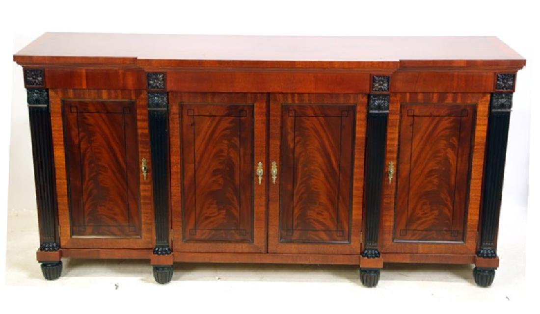 BAKER FURNITURE MAHOGANY REGENCY STYLE SIDEBOARD