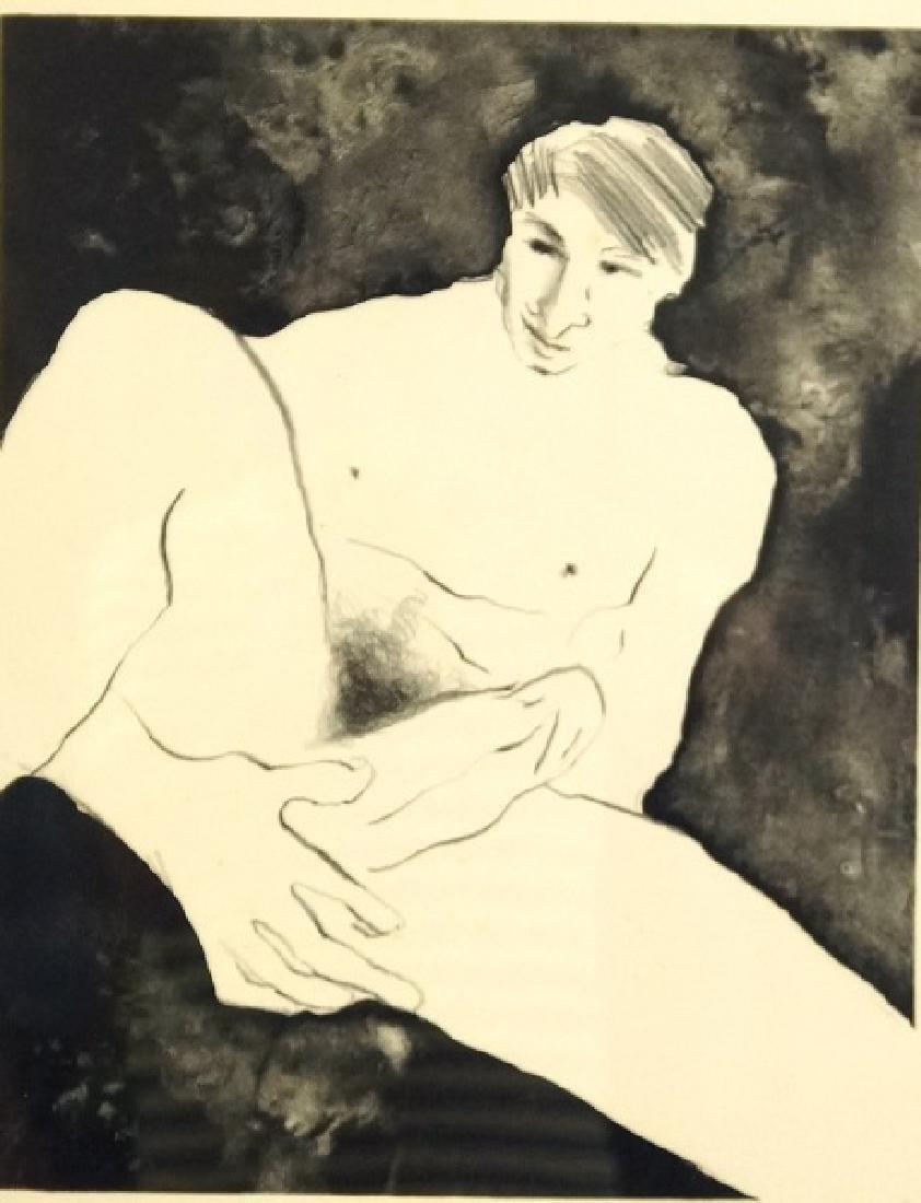 "R.C. GORMAN ""NUDE BART"" LITHOGRAPH, EDITION #28/40, 197"