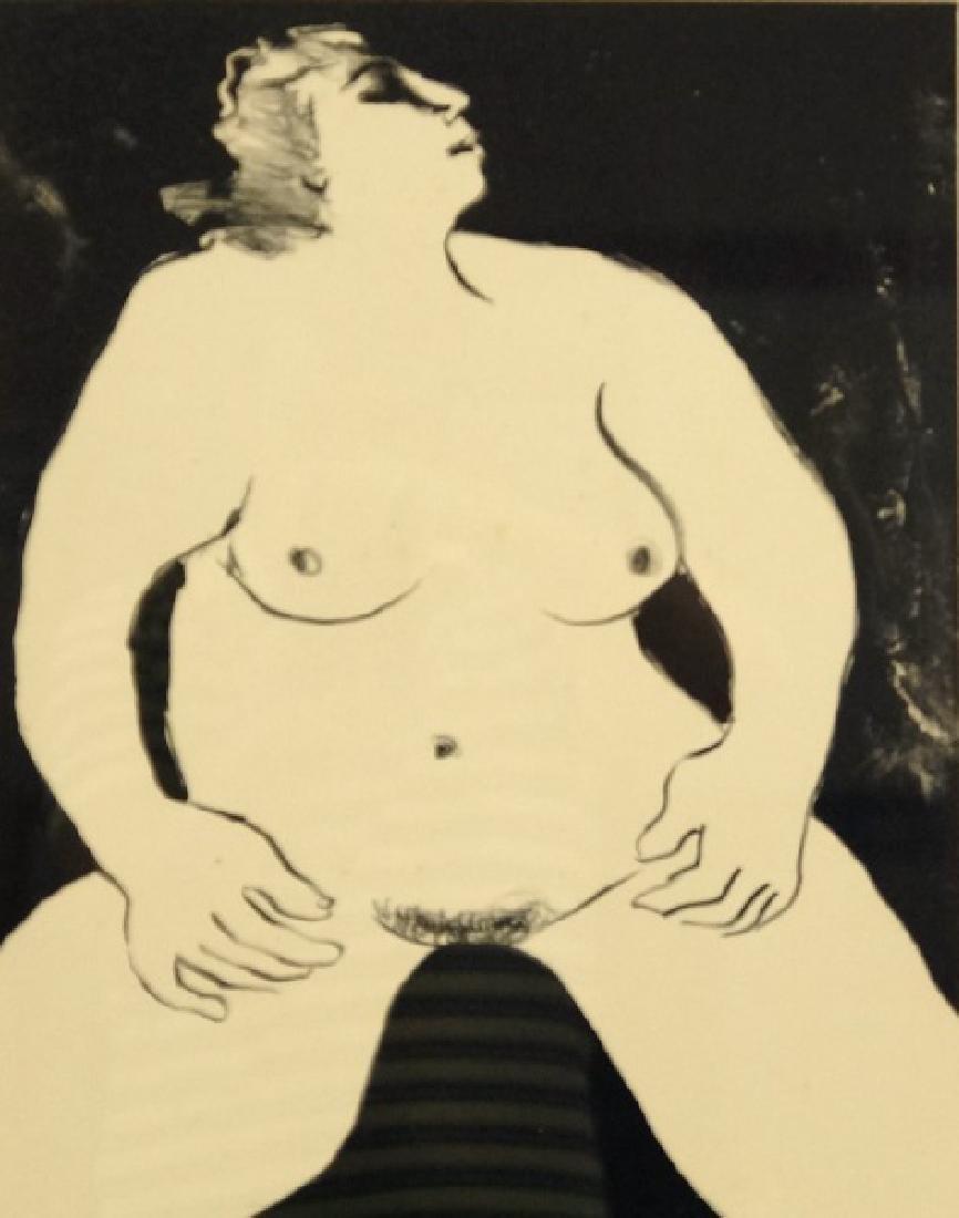 "R.C. GORMAN ""NUDE WOMAN"" LITHOGRAPH, EDITION #28/40, 75"