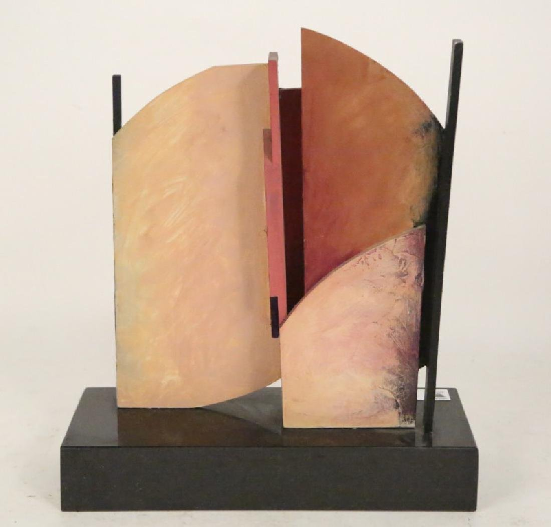 "ROBERT RECTOR ""PHOENIX"" MIXED MEDIA SCULPTURE 1987"