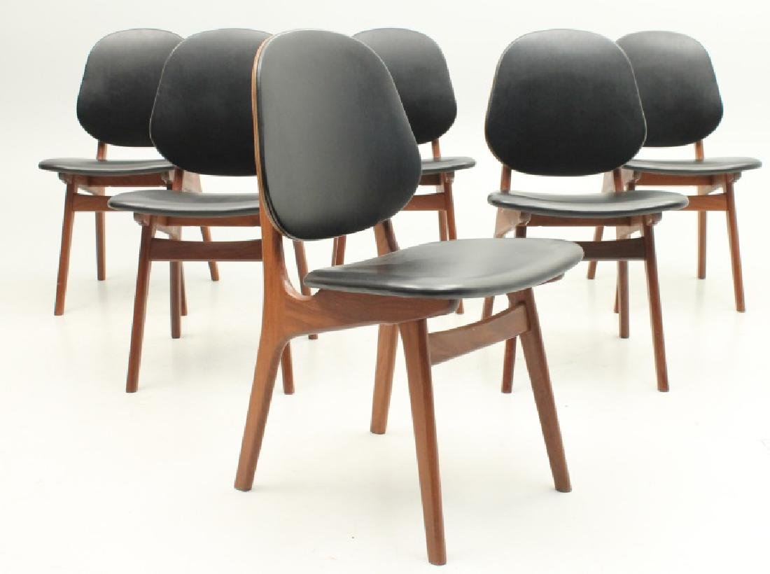 SET OF SIX ONSILD MOBELFABRIK DANISH MODERN CHAIRS