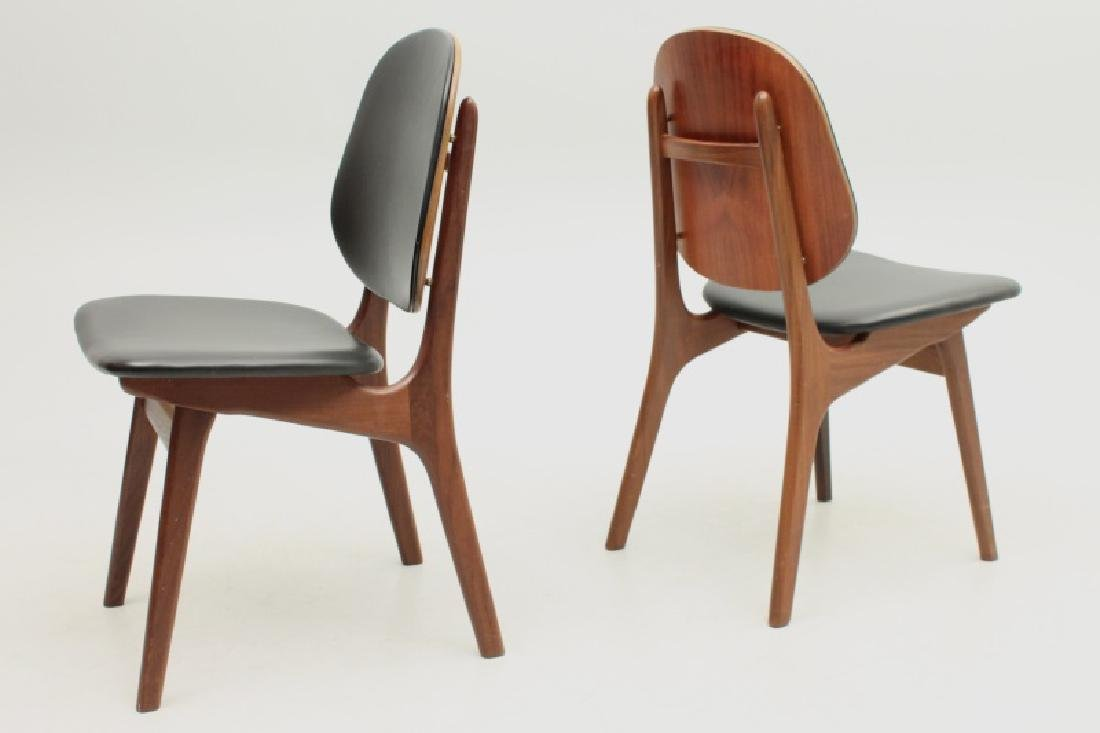 SET OF SIX ONSILD MOBELFABRIK DANISH MODERN CHAIRS - 4