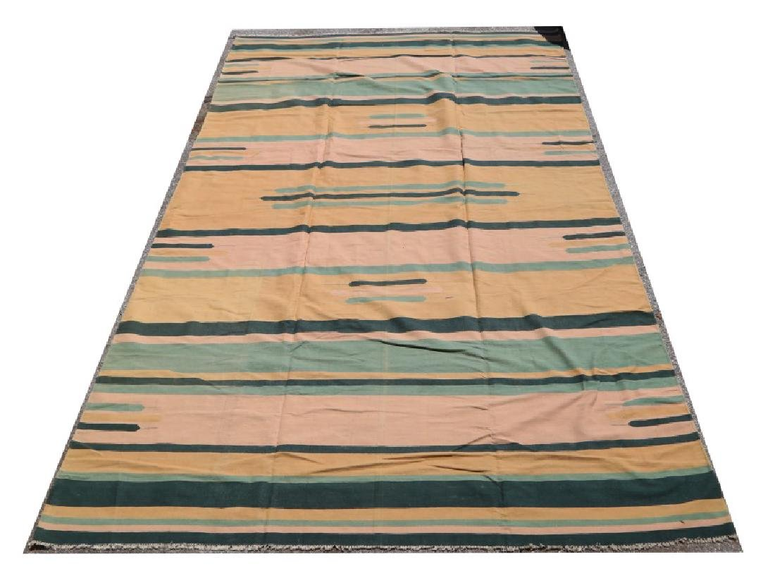 COTTON INDIAN DHURRIE RUG